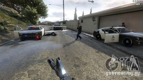Bad Cops LSPD Livery 1.1 для GTA 5 четвертый скриншот