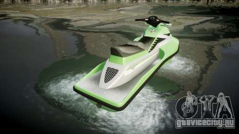 GTA V Speedophile Seashark для GTA 4 вид сзади слева