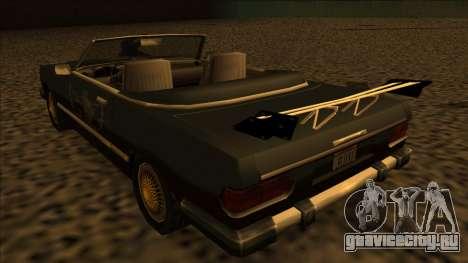 FreeShow Feltzer для GTA San Andreas вид изнутри