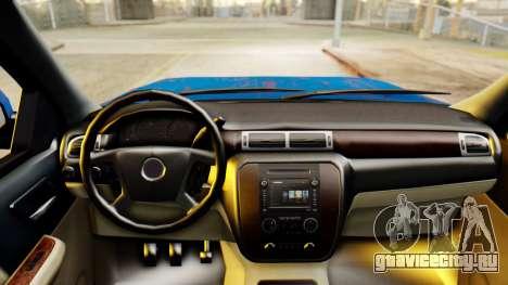 Chevrolet Silverado 2010 TLoU Edition для GTA San Andreas вид справа