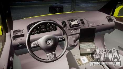 Volkswagen Transporter Norwegian Ambulance [ELS] для GTA 4 вид сзади