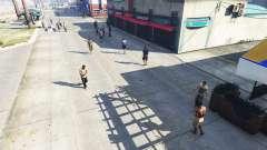 Реалистичное заполнение улиц и дорог 4GBRAM