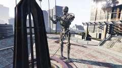 Статуя T-800 для GTA 5