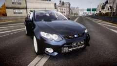 Ford Falcon FG XR6 Unmarked Police [ELS] v2.0 для GTA 4