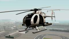 AH-6J Little Bird для GTA San Andreas