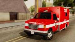 SAFD Ambulance