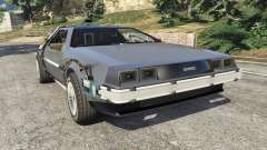 DeLorean DMC-12 Back To The Future v0.1 для GTA 5