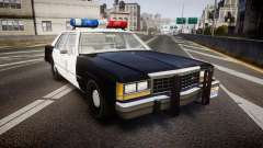 Ford LTD Crown Victoria 1987 LAPD [ELS] для GTA 4