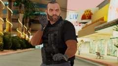 [GTA5] BlackOps2 Army Skin Black для GTA San Andreas