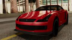 GTA 5 Annis Elegy RH8 IVF для GTA San Andreas