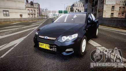 Ford Falcon FG XR6 Unmarked NSW Police [ELS] для GTA 4