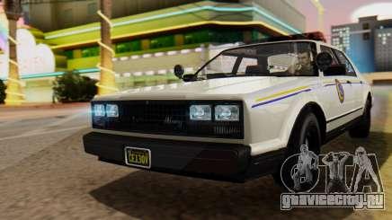 GTA 5 Albany Esperanto Police Roadcruiser для GTA San Andreas