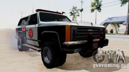 Police Ranger with Lightbars для GTA San Andreas