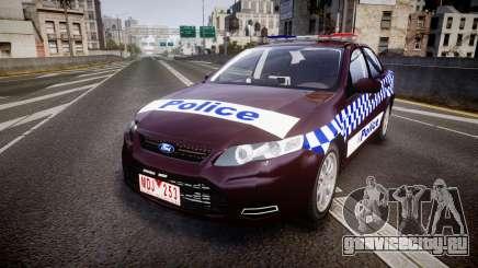 Ford Falcon FG XR6 Turbo NSW Police [ELS] v3.0 для GTA 4