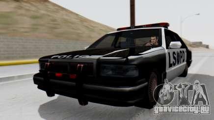 Police LS with Lightbars для GTA San Andreas