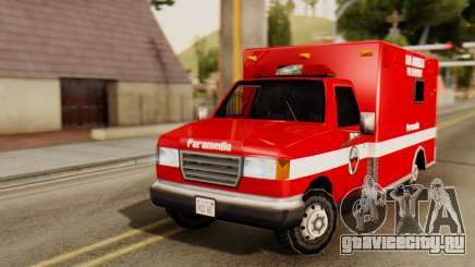 SAFD Ambulance для GTA San Andreas