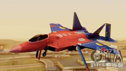 F-22 Raptor MARIO для GTA San Andreas