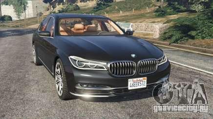 BMW 750Li 2016 для GTA 5