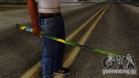 Brasileiro Katana v2 для GTA San Andreas