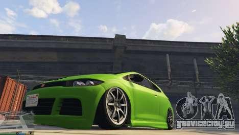 Пневмоподвеска v1.0 для GTA 5 второй скриншот