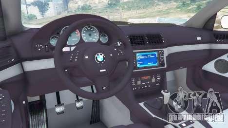BMW M5 (E39) для GTA 5 вид справа