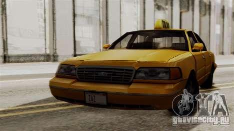 Ford Crown Victoria LP v2 Taxi для GTA San Andreas вид слева