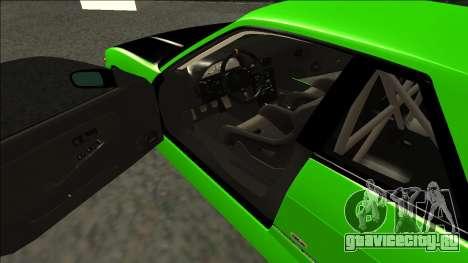 Nissan Silvia S13 Drift Monster Energy для GTA San Andreas вид справа