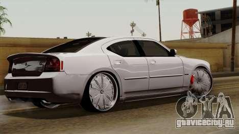 Dodge Charger 2006 DUB для GTA San Andreas вид слева