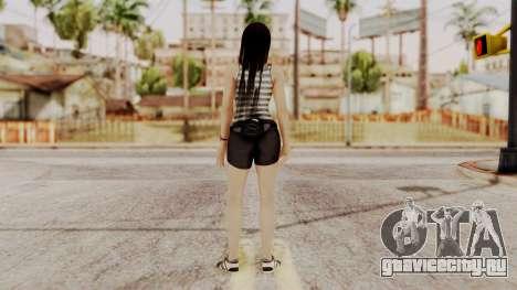 DOA 5 Kokoro Casual для GTA San Andreas третий скриншот