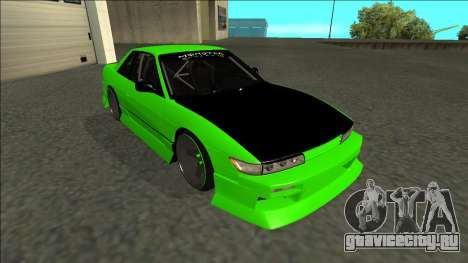 Nissan Silvia S13 Drift Monster Energy для GTA San Andreas вид слева