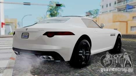 GTA 5 Benefactor Surano v2 для GTA San Andreas вид слева