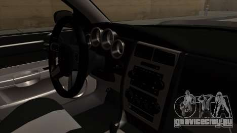 Dodge Charger 2006 DUB для GTA San Andreas вид справа