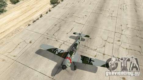 Messerschmitt BF-109 E3 v1.1 для GTA 5 четвертый скриншот