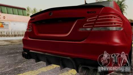 Brabus B900 для GTA San Andreas вид сзади