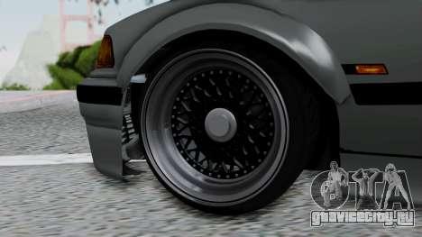 BMW M3 E36 Widebody v1.0 для GTA San Andreas вид сзади слева