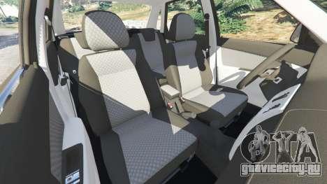 ВАЗ-2170 Лада Приора для GTA 5 колесо и покрышка