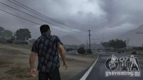 Realistic Thunder and Wind Sound FX для GTA 5
