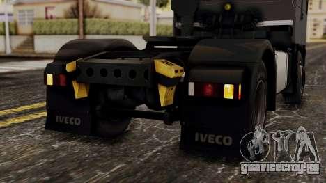 Iveco EuroStar Low Cab для GTA San Andreas вид снизу