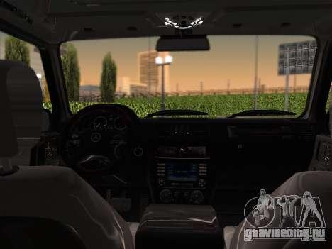 Mercedes-Benz G500 для GTA San Andreas вид сбоку