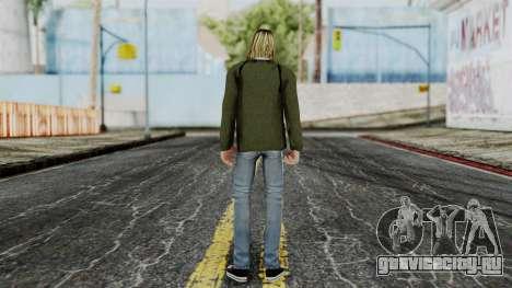Kurt Cobain для GTA San Andreas третий скриншот