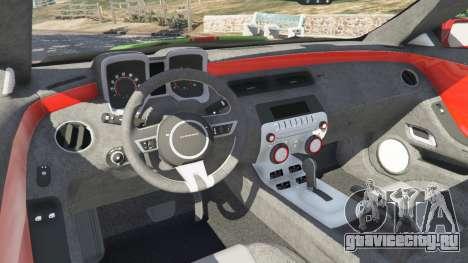 Chevrolet Camaro SS 2010 [Beta] для GTA 5 колесо и покрышка