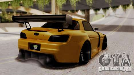 Honda S2000 GT1 для GTA San Andreas вид слева