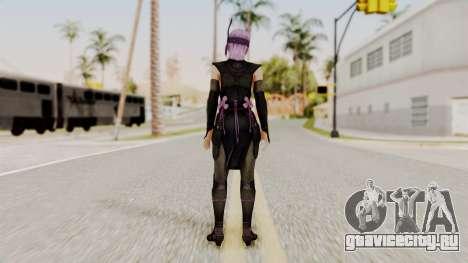 DOA 5 Ayane Ninja для GTA San Andreas третий скриншот