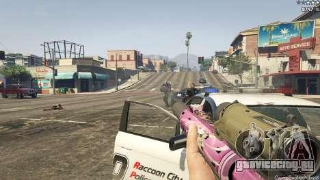 Аниме карабин для GTA 5 пятый скриншот