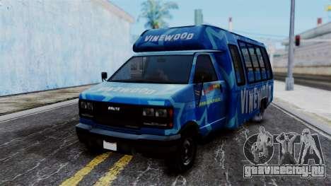 Vinewood VIP Star Tour Bus для GTA San Andreas