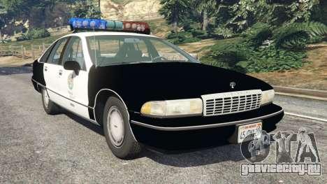 Chevrolet Caprice 1991 LSPD для GTA 5