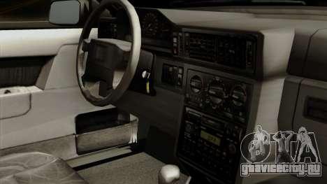 Volvo 850 для GTA San Andreas вид справа
