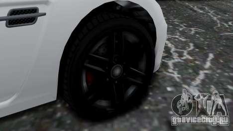 GTA 5 Benefactor Surano v2 для GTA San Andreas вид сзади слева