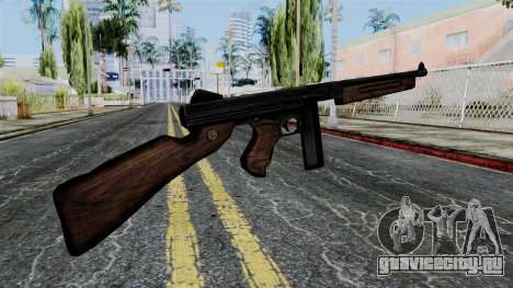 Thompson from Battlefield 1942 для GTA San Andreas второй скриншот