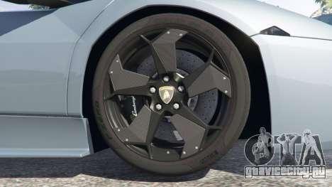 Lamborghini Reventon Roadster [Beta] для GTA 5 вид справа